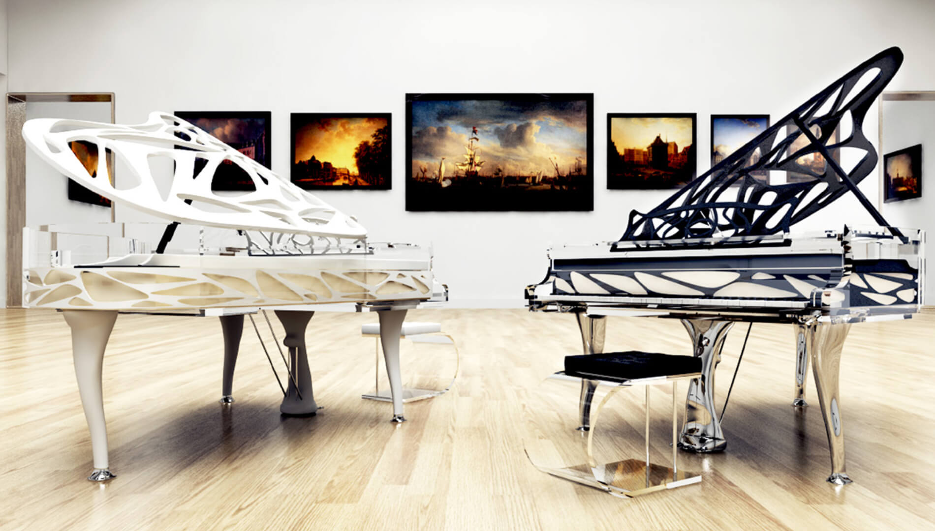 lucid Elegance piano Russia
