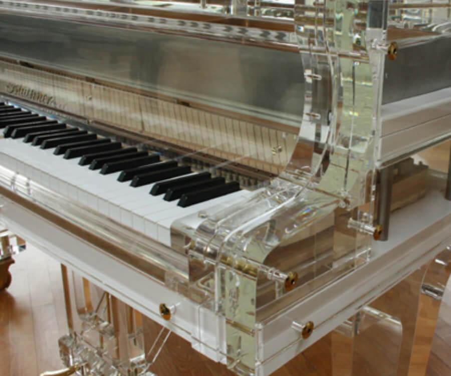 Блютнер акриловый рояль