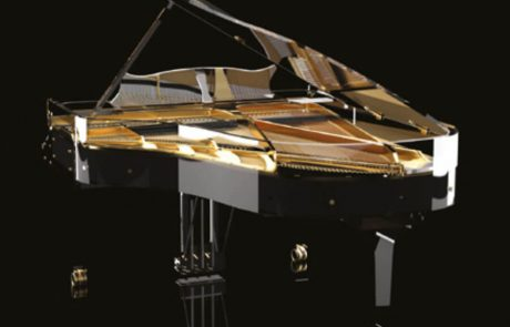 Блютнер прозрачное пианино