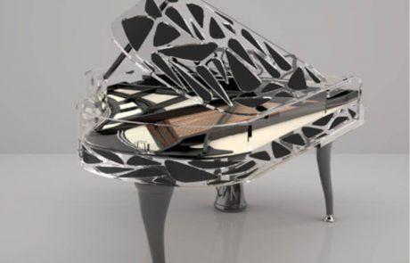 Блютнер хрустальный рояль
