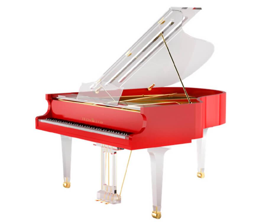 tranlucid piano negro Russia